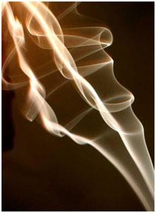 El olor a humo